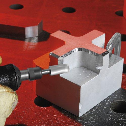 1 Stk | Fräser HFC Walzenrundform für Alu 12x25 mm Schaft 8 mm | Verz. 9 Schaltbild