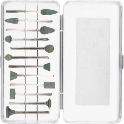 1 Stk | Kleinpolierstifte-Set 12-teilig | Schaft 2.35x40 mm Siliciumcarbid Korn 400 Produktbild