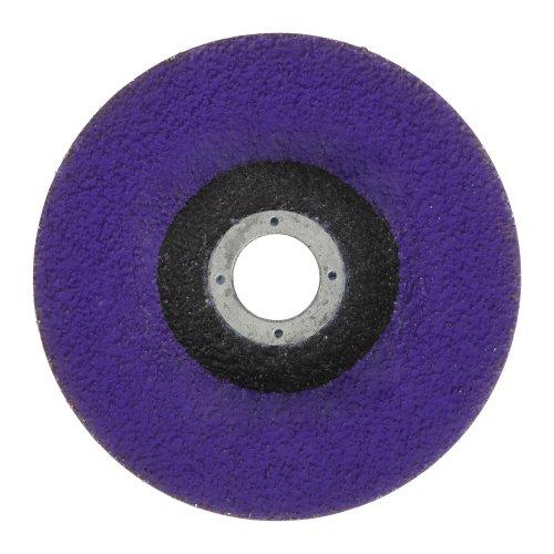 1 Stk | Kompaktschleifteller PURPLE GRAIN SINGLE Ø 115 mm Ceramic Korn 36 gekröpft Produktbild