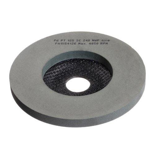 5 Stk   Polierteller P6PT Ø 125 mm Medium für Winkelschleifer flach Siliciumcarbid Produktbild