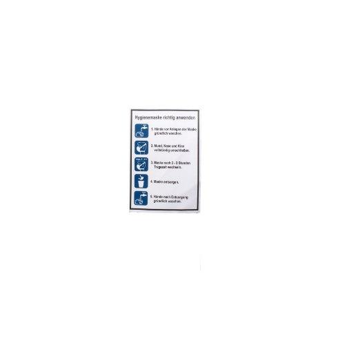 10 Stk. | Mundschutzmaske 4-lagig, Einmal Mund- Nasenschutz, blau Produktbild