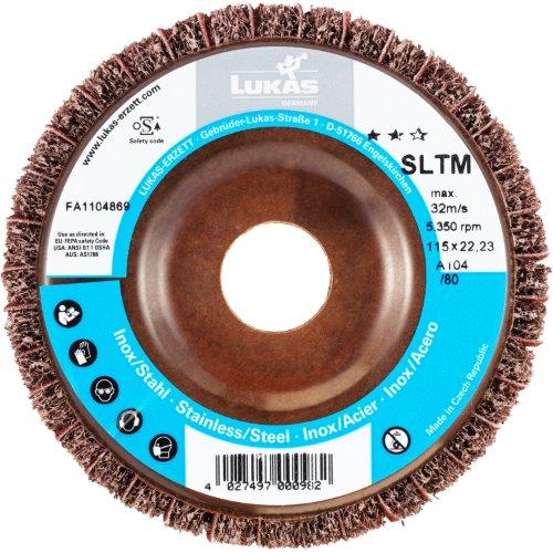 1 Stk | Fächerschleifscheibe SLTM universal Ø 115 mm Korund Korn 100/80 | flach Artikelhauptbild