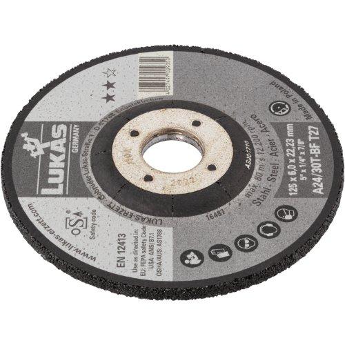 1 Stk | Schruppscheibe T27 für Stahl 230x6 mm gekröpft | für Winkelschleifer | A24/30T-BF Produktbild