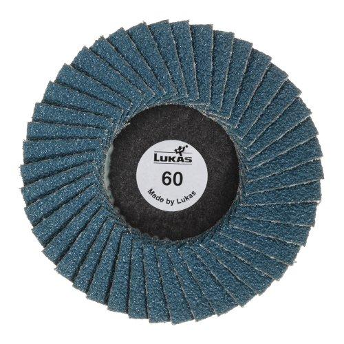 10 Stk | Mini-Fächerschleifscheibe SLTG universal Ø 50 mm Zirkonkorund Korn 120 flach Artikelhauptbild