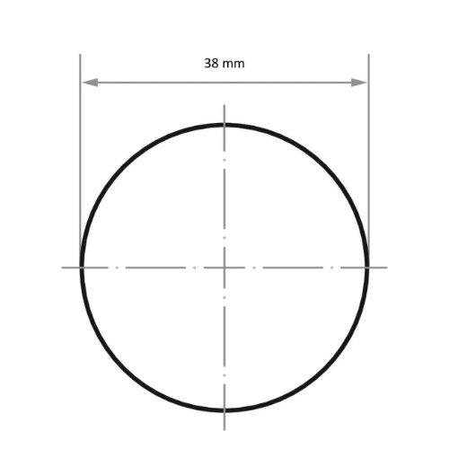 50 Stk | Schleifblätter PSG universal Ø 38 mm Zirkonkorund (schleifaktive Deckbindung) Korn 60 Abb. Ähnlich