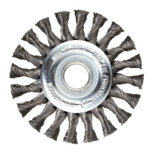 1 Stk   Rund-Drahtbürste BRSZ universell 115x12 mm für Winkelschleifer gezopft Produktbild