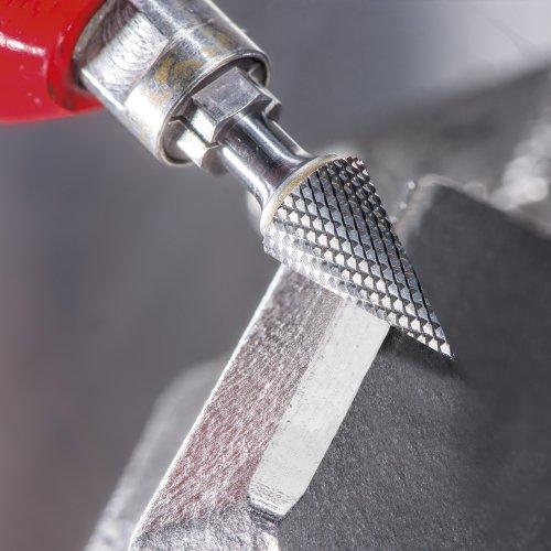 1 Stk | Fräser HFM Spitzkegelform für gehärtete Stähle 12x25 mm Schaft 6 mm Schaltbild