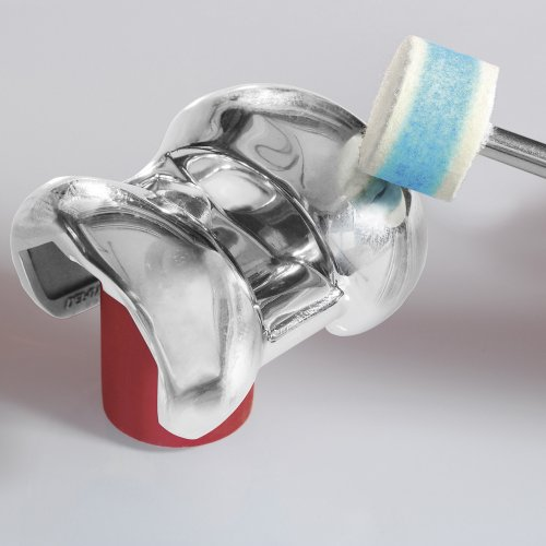 10 Stk   Polierscheibe P3S1 40x10 mm Bohrung 6 mm Filz für Polierpaste Schaltbild