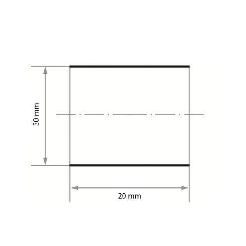 50 Stk | Schleifhülse SBZY 30x20 mm Korund Korn 150 Abb. Ähnlich