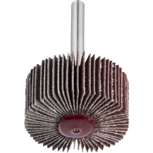 10 Stk | Fächerschleifer SFL universal 80x30 mm Schaft 6 mm Korund Korn 150 Produktbild
