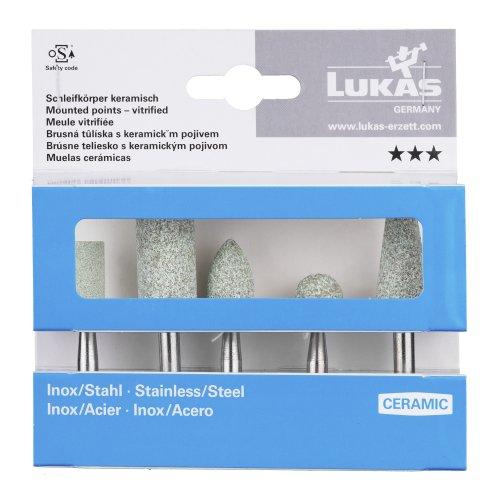 1 Stk   Schleifstift-Set für Edelstahl/Stahl 5-teilig Schaft 6 mm Ceramic Artikelhauptbild
