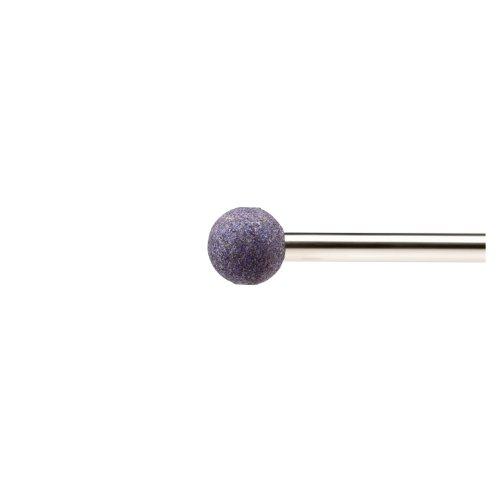 20 Stk | Schleifstift KU Kugelform für Stahl/Stahlguss 4x4 mm Schaft 3 mm | Korn 100 Artikelhauptbild