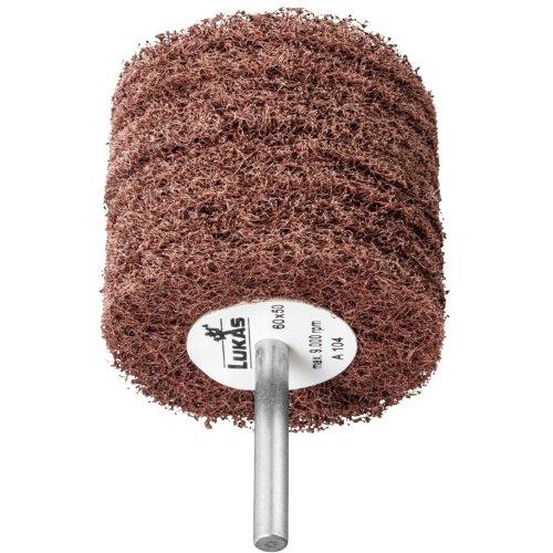 10 Stk | Fächerschleifer SFR universal 80x50 mm Schaft 6 mm Korund Korn 100 Produktbild