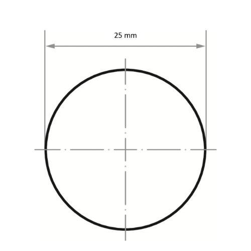 50 Stk | Schleifblätter PSG universal Ø 25 mm Spezialkorund Korn 120 Abb. Ähnlich