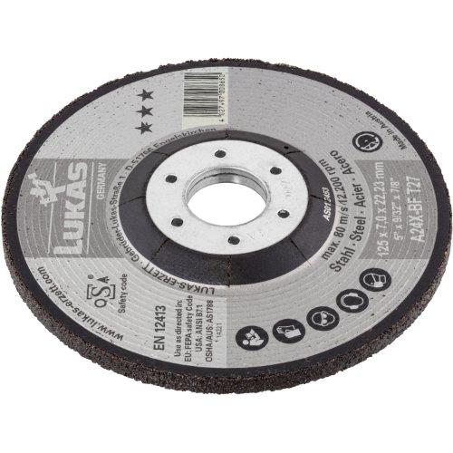 10 Stk   Schruppscheibe T27 für Stahl 230x7 mm gekröpft   für Winkelschleifer   A24X-BF Produktbild