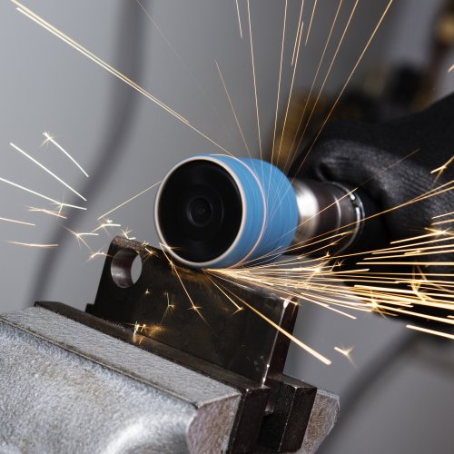 5 Stk | Werkzeugaufnahme STZY für Schleifhülsen 45x30 mm Schaft 6 mm | weich Schaltbild