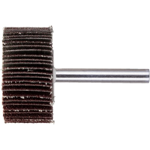 20 Stk | Fächerschleifer SFL universal 30x10 mm Schaft 6 mm Korund Korn 120 | Base-X Artikelhauptbild