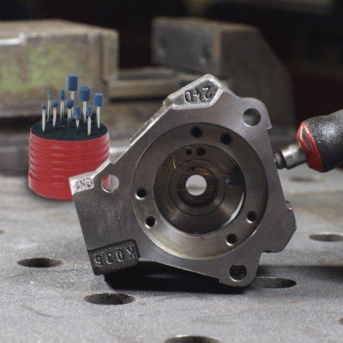 1 Stk | Schleifstift-Set für Edelstahl/Stahl 10-teilig Schaft 3x50 mm NDW/ Ceramic Schaltbild