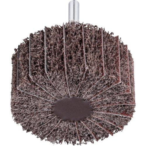 10 Stk | Fächerschleifer SFM universal 30x30 mm Schaft 6 mm Korund Korn 100/80 Produktbild