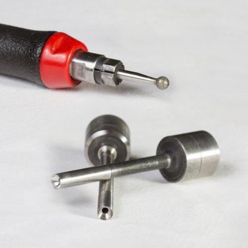 1 Stk | Diamantschleifstift DS Zylinderform 2x5 mm Schaft 3 mm Schaltbild