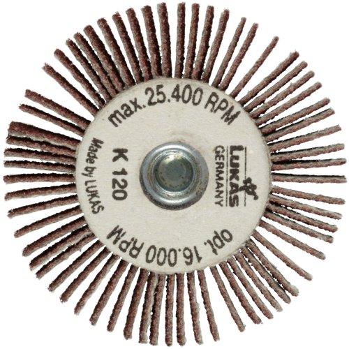 10 Stk   Fächerschleifer mit M6 Innengew. SFI universal 30x10 mm   Korund Korn 150 Artikelhauptbild