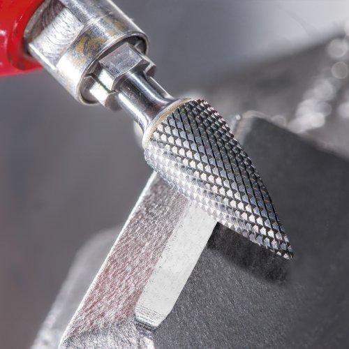 1 Stk | Fräser HFAS Zylinderform für gehärtete Stähle 12x25 mm Schaft 6 mm Stirnverzahnung Schaltbild