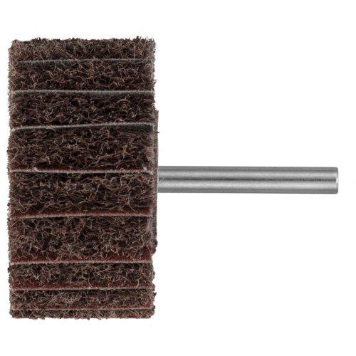 10 Stk | Fächerschleifer SFM universal 30x30 mm Schaft 6 mm Korund Korn 100/80 Artikelhauptbild
