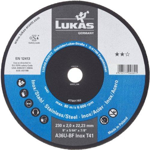 1 Stk | Trennscheibe T41 für Edelstahl 180x2 mm gerade | für Winkelschleifer | A36U-BF Artikelhauptbild