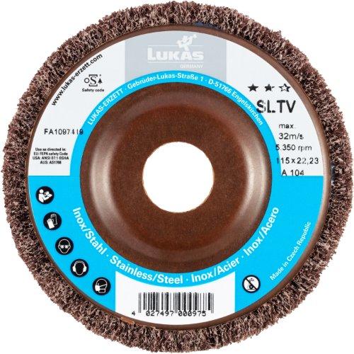 10 Stk   Fächerschleifscheibe SLTV universal Ø 115 mm Korund Korn 100   flach Artikelhauptbild