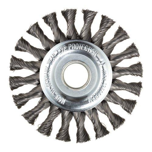 1 Stk   Rund-Drahtbürste BRSZ universell 115x12 mm für Winkelschleifer gezopft Artikelhauptbild