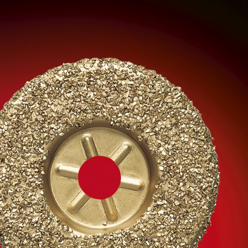 1 Stk | Hartmetall-Granulat-Teller HGWT Ø125 mm | gerade Schaltbild