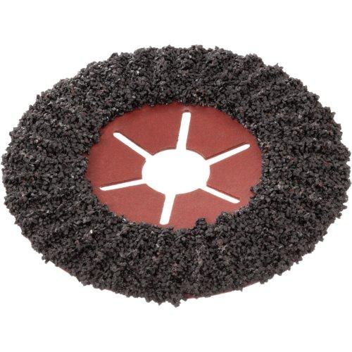 25 Stk | halbflex. Schruppscheibe SHF Ø 115 mm Siliciumcarbid Korn 36 | für Winkelschleifer Produktbild