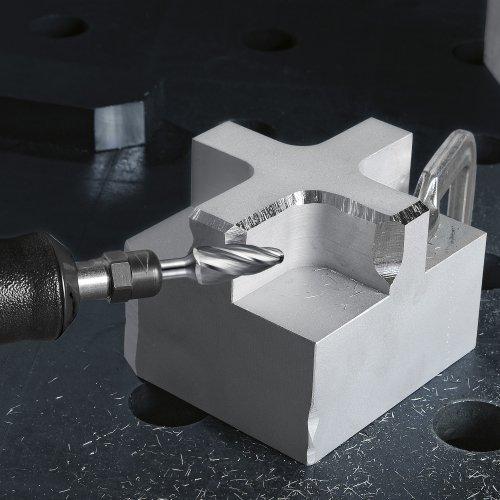 1 Stk | Fräser HFF Rundbogenform für Alu 12x25 mm Schaft 6 mm Schaltbild