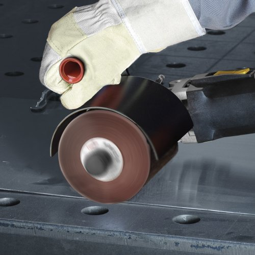 2 Stk | Schleifvlies-Lamellenwalze LWV universal 100x52 mm mit Innengewinde M14 | Korund Korn 280 Schaltbild