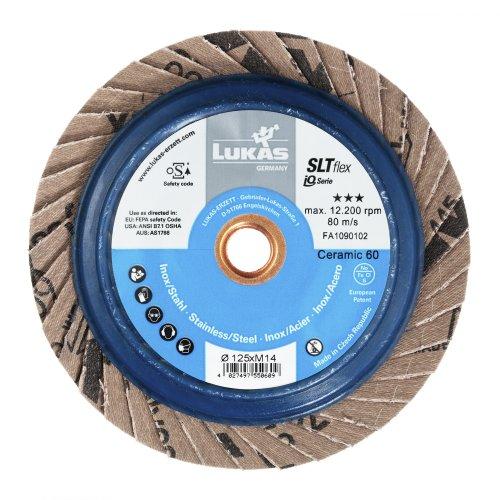 1 Stk | Fächerschleifscheibe SLTflex universal Ø 125 mm Ceramic Korn 60 flach Artikelhauptbild
