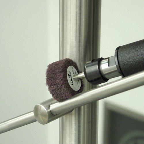 10 Stk | Fächerschleifer SFV universal 50x40 mm Schaft 6 mm Korund Korn 280 Schaltbild