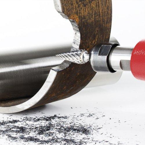 1 Stk | Fräser HFM Spitzkegelform für Edelstahl/Stahl 12x25 mm Schaft 6 mm Schaltbild
