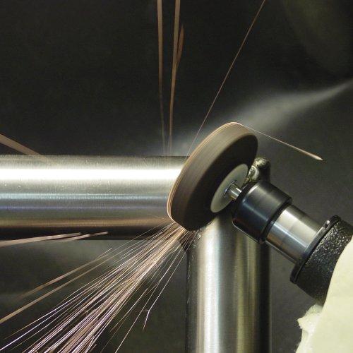 20 Stk | Schleifstift ZY2 Zylinderform für Werkzeugstähle 65x10 mm Schaft 8 mm | Korn 24 weich Schaltbild
