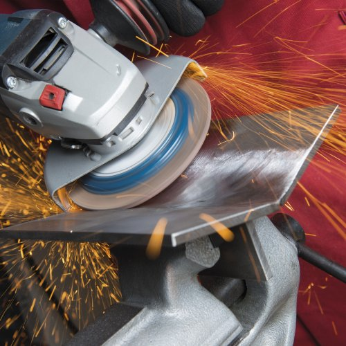 10 Stk | Fächerschleifscheibe SLTflex universal Ø 115 mm Zirkonkorund Korn 80 | flach Schaltbild