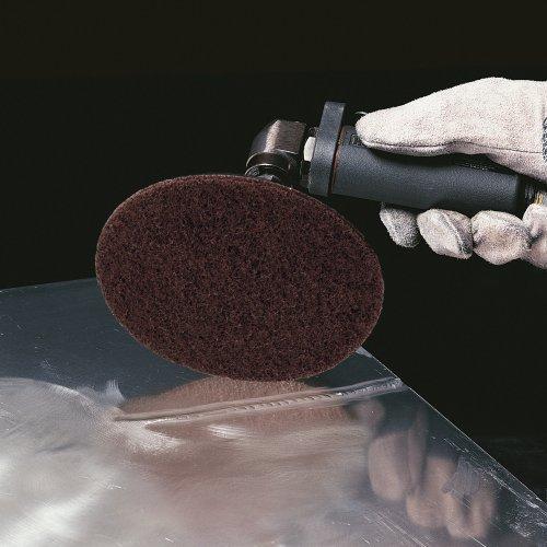 10 Stk | Schleifblätter PSH universal Ø 125 mm mit Kletthaftsystem | Vlies Korund Korn 80 Schaltbild