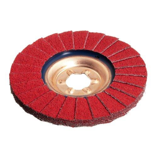 10 Stk | Fächerschleifscheibe SLTT universal Ø 178 mm Ceramic Korn 60 | flach Produktbild