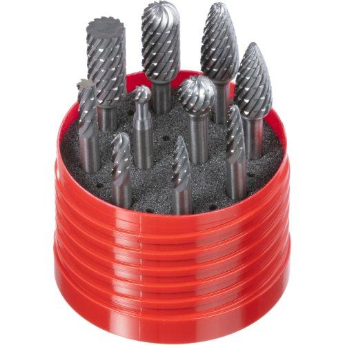 1 Stk   Fräser-Set 10-teilig Schaft 6 mm   Verz. 42 für Edelstahl/ Stahl Artikelhauptbild