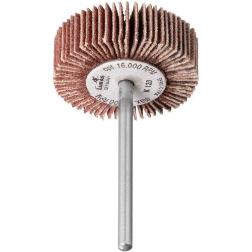 10 Stk | Fächerschleifer SFE universal 40x15 mm Schaft 6 mm Korund Korn 60 Produktbild