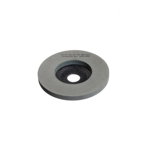 5 Stk | Polierteller P6PT Ø 125 mm Ultra fein | Korn 1200 | für Winkelschleifer schräg Siliciumcarbid Produktbild
